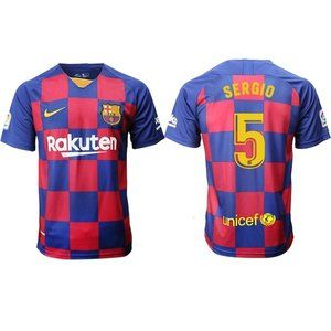 Barcelona Sergio Busquets Red Jersey